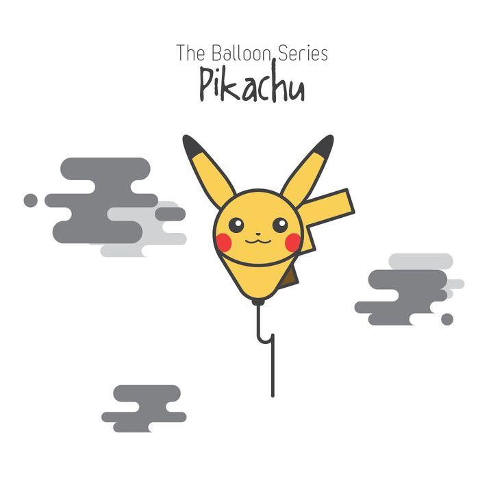 The Balloon Series - Pikachu