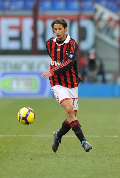 Luca Antonini (born 4 August 1982) is an Italian professional footballer who plays as a defender for Serie A club Milan. He is equally comfortable playing on either flank.    Antonini is a versatile footballer who has been employed either as a winger or as a fullback, playing both on the left or the right side.[20] His speed and stamina also allows him to attack and fall back to his position with ease.