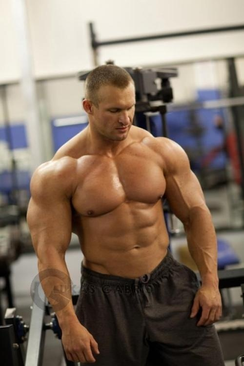 Male bodybuilders - fitness, nutrition, and rest. Lift