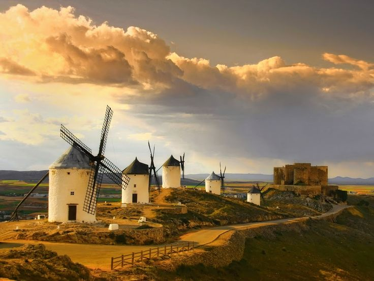 'Los cinco vientos' - Consuegra. Castilla La Mancha by Renato López Baldó
