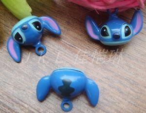Lot 10 Pcs Stitch Brass Jingle Bell DIY Charm Key Ring Bag Pendant | eBay