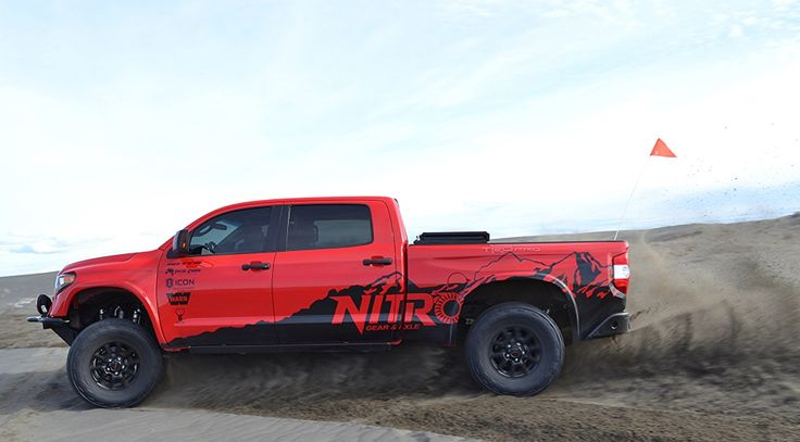 "For Sale: Nitro Gear Supercharged, Long Travel Toyota Tundra ""More Than TRD Pro"" Tundra, ""The Six Fingered Man"" – Nitro Gear and Axle"