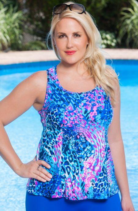 27 best Sporty Plus Size Swimwear images on Pinterest