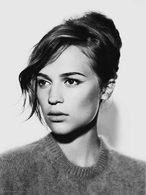 Alicia Vikander - my new woman crush