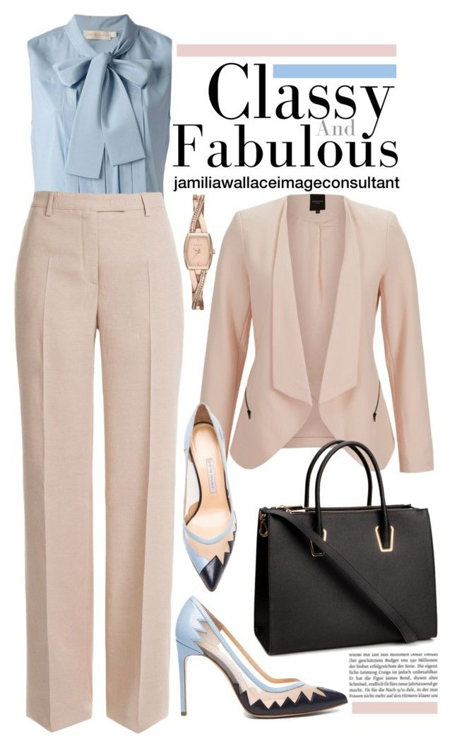 Ideal Image by jamilia-wallace on Polyvore featuring polyvore fashion style Tory Burch SELECTED Emilio Pucci Bionda Castana H&M DKNY clothing