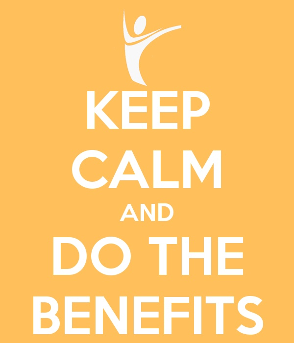 Keep Calm and do the Benefits  #Demartini
