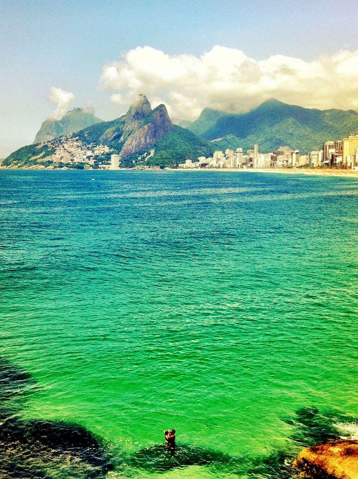 Arpoador, Rio de Janeiro, Brasil...