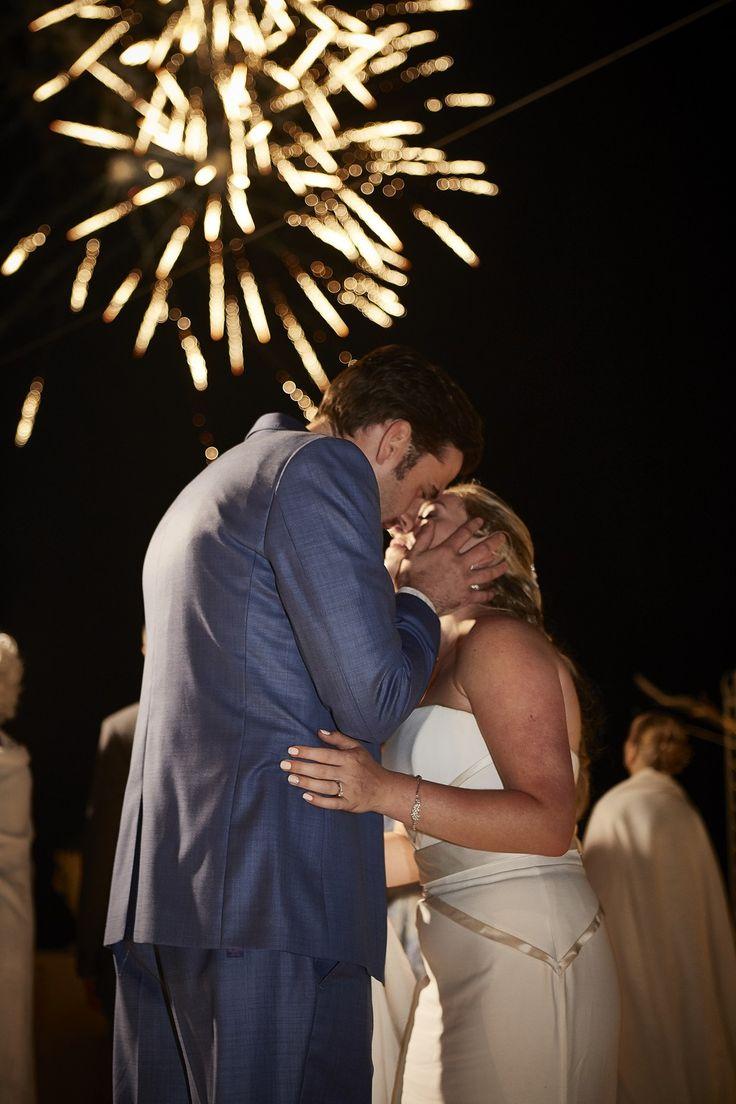 Fireworks, Couple In Love, Sweet Kiss, Santorini, Traditional Wedding, Love His Wife