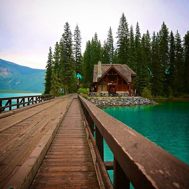 Emerald Lake in British Columbia. Photo courtesy of fvlifestyle on Instagram.