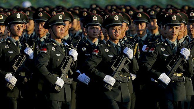 Desfile china 70 aniversario segunda guerra