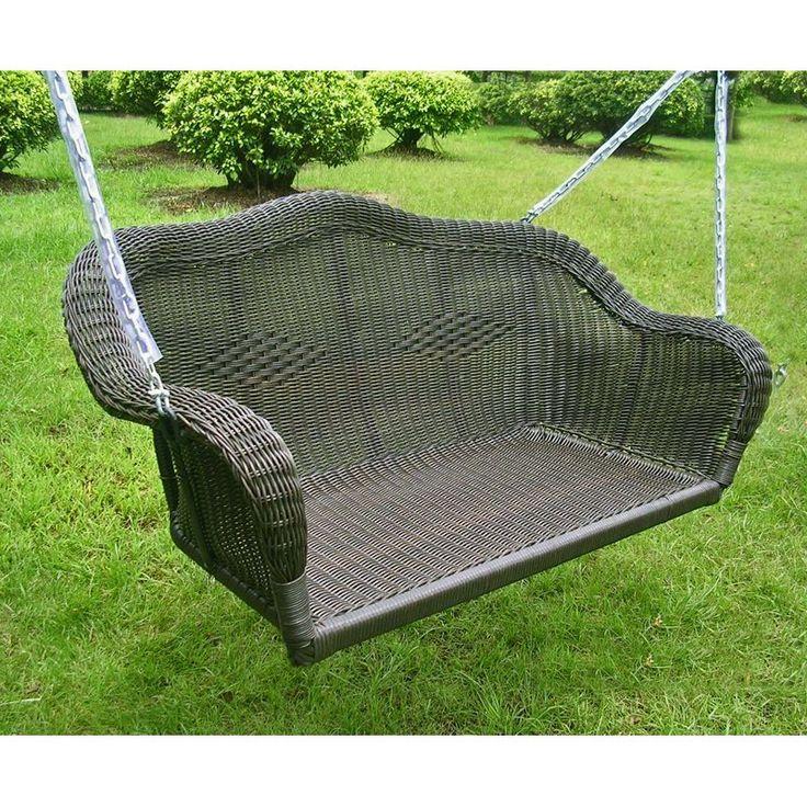 1000 Ideas About Wicker Swing On Pinterest Swing Chairs