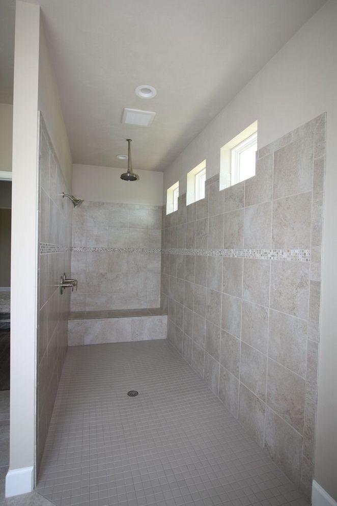 31 Master Shower Ideas No Door Walk In 28 Decorinspira Com Small Bathroom With Shower Shower Remodel Master Bathroom Shower