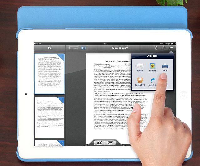 How To Use Your iPad as a Document Scanner