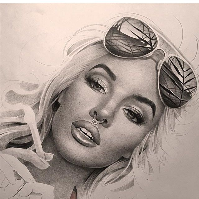 Marylin Monroe - Pencil Art