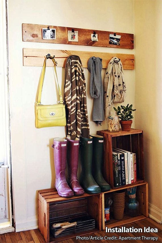 Wooden Crates for Building Shelves – Stackable Wooden Crate for Building Display Shelves – Wood Crate Shelves
