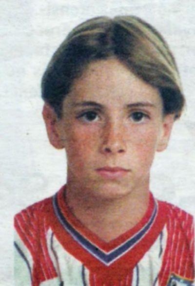 Fernando Torres in childhood