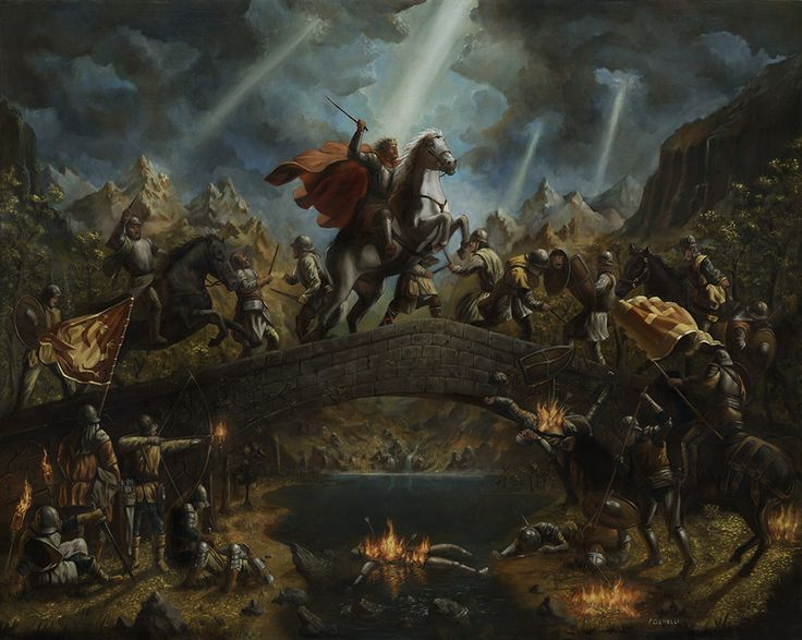 Norman Conquest Of England Medieval War Art Pinterest