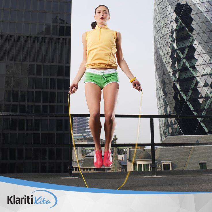 Selain jogging, Sahabat KlaritiKita dapat melakukan olahraga gratis ini tanpa harus datang ke gym.