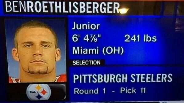 2004 NFL Draft - Ben Roethlisberger