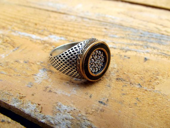 925 sterling silver ringmen ring for mensel by silveringjewelry