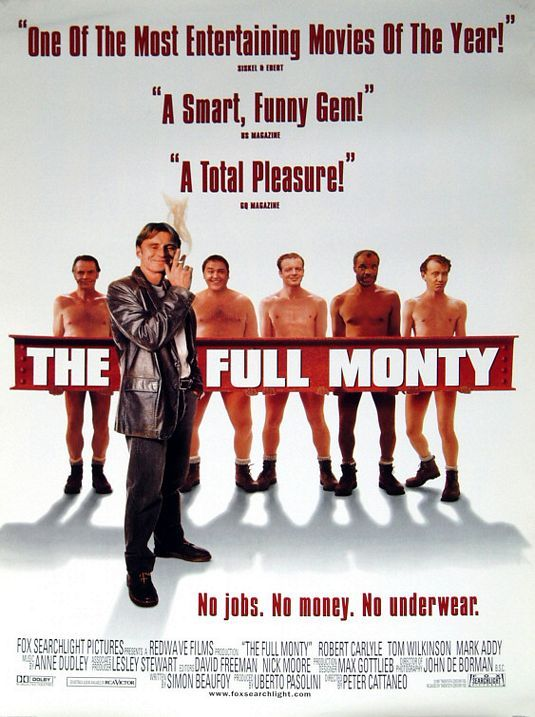 The Full Monty (1997) Robert Carlyle, Tom Wilkinson, Mark Addy