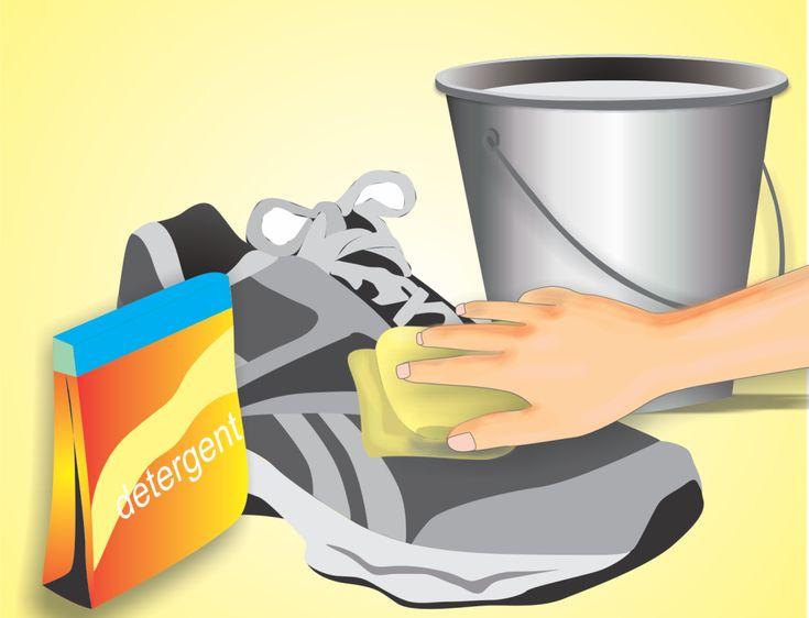 How to Wash Gym Shoes -- via wikiHow.com