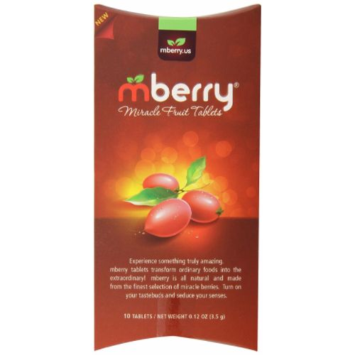 Turns sour foods to sweet!Warning-While everyone's taste buds are different the duration of the desired effect varies from person to person.Mberry Miracle Fruit Tablets are tablets that you dissolve on your tongue, tricking your taste buds, making sour foods taste sweet.Knock sour out of the park with these all-natural miracle berry fruit tablets. Eat a …