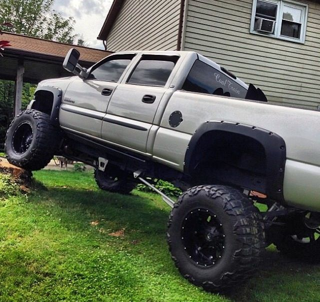 Chevy Trucks Lifted With Stacks Lifted Chevy Diesel Tr...
