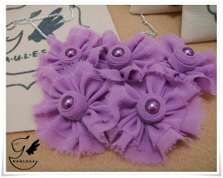 Purple Eye Necklace