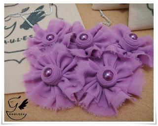 Purple Eye Necklace