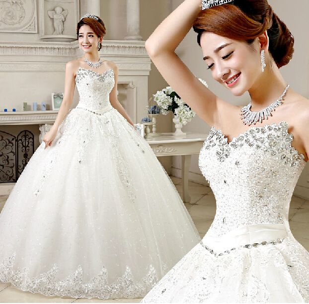 Find More Wedding Dresses Information about 2015 new hot sale  luxury sexy backless elegant  beach sweetheart  lace plus size white beading wedding dress strapless,High Quality dress jilbab,China wedding pennants Suppliers, Cheap dress overcoat from Playful beauty department store on Aliexpress.com