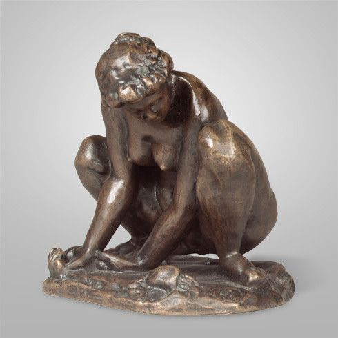 Collection Online | Aristide Maillol. Woman with Crab (La femme au crabe). ca. 1902–05 - Guggenheim Museum