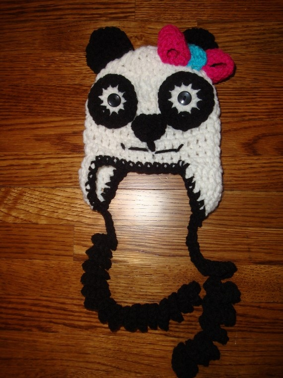 17 Best images about Panda hat on Pinterest Sleeve ...