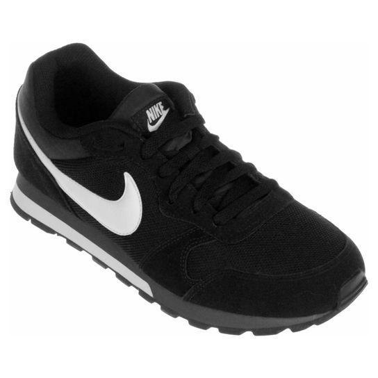 Tênis Nike Md Runner 2 - Preto+Branco