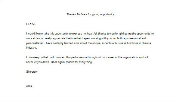 resignation letter format simple brave thank you boss after important note