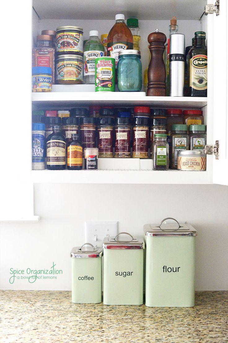 807 best ~*Organization/Kitchen*~ images on Pinterest ...