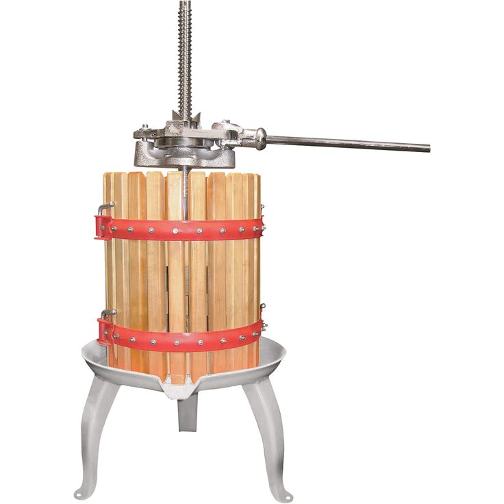 4-Gallon Double Ratchet Fruit and Wine Press | Fruit Crushers, Juicers Wine Presses| Northern Tool + Equipment
