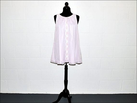 Vintage 60's 1960's Pink Babydoll Nightie by redangora, $14.00  sooo cute!!!