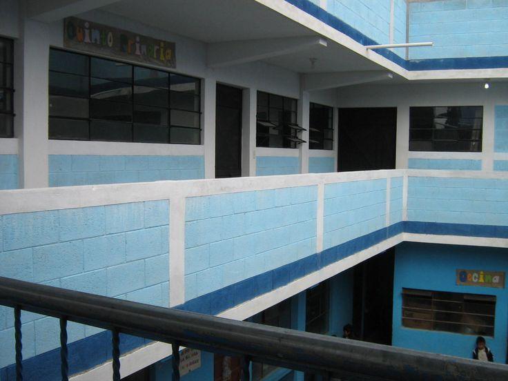 18 New 2nd floor classrooms, balcony