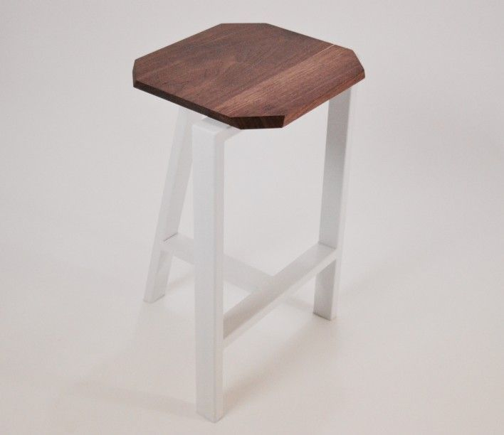"Check out the #minimal# chic ""Treble"" #Stool by Joseph Cauvel."