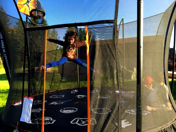 The Vuly Thunder is our benchmark to which all trampolines will now be compared. #VulyFamily