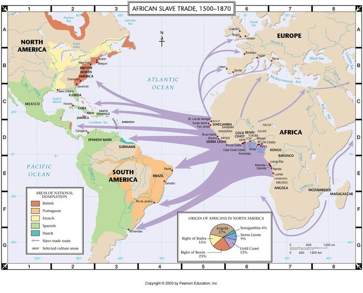 """""""African Slave Trade: 1500-1870"""" [follow this link for a documentary which explores the history of the slave trade in North America: http://www.thesociologicalcinema.com/1/post/2012/02/traces-of-the-trade-a-story-from-the-deep-north.html]"""