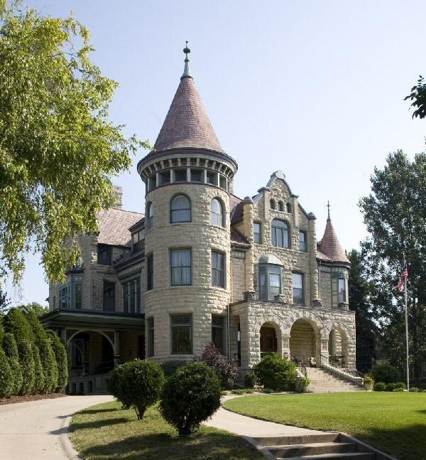 Richardsonian Romanesque Revival Mansion Google Search