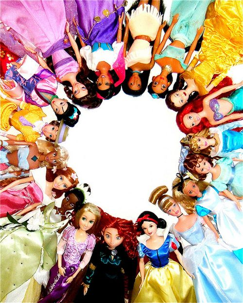 all of the Disney girls! (Except Elsa and Anna)