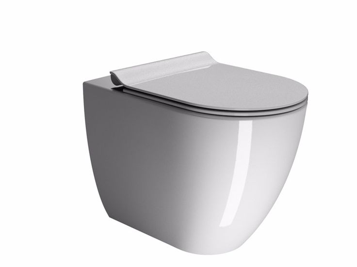 """Da oggi nel negozio online la Serie Pura della GSI Ceramica """"WC 55 a pavimento"""". I sanitari sospesi Pura, disponibili nelle versioni da 55 e 50 cm di profondità, sono il risultato di un lungo lavoro di sviluppo che ha portato alla realizzazione di prodotti tecnicamente ineccepibili e assolutamente funzionali, e che dal punto di vista estetico esprimono tutta la forza della purezza minimalista."""