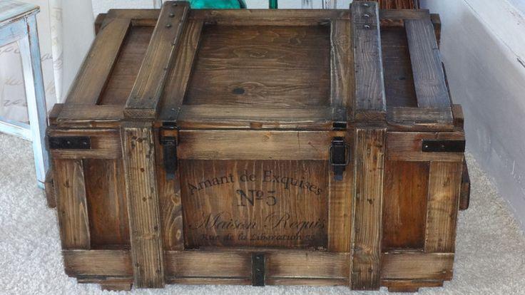 1000+ Ideen zu Alte Holztruhe auf Pinterest  Kleinmöbel