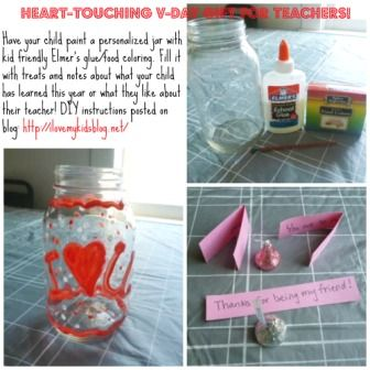 Cheap Valentines Day Gift Idea for Teachers-DIY Craft