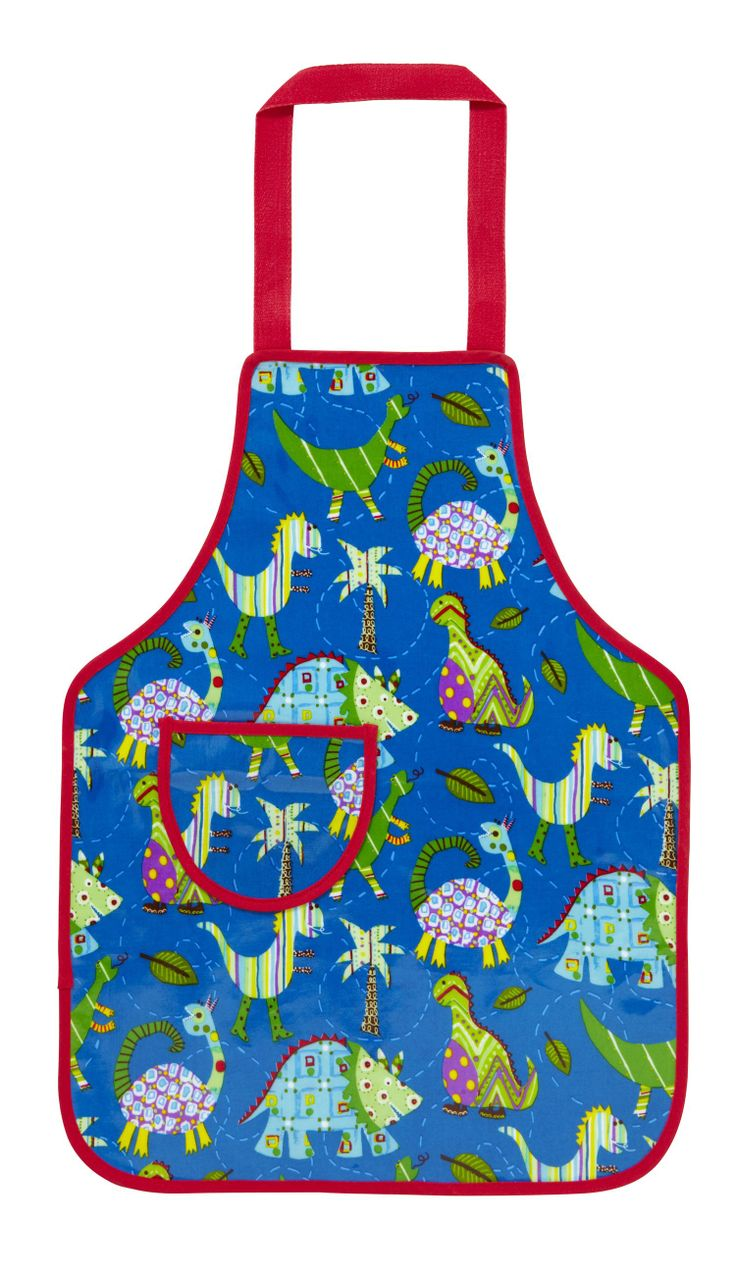 RAWR!!! Let the kids have fun in the kitchen with this Dinosaur apron!