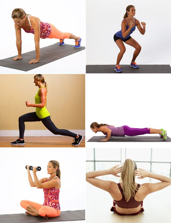 8 Beginner Strength-Training Moves to Master