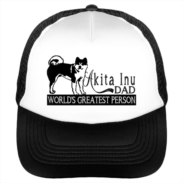 "Akita Inu DAD BEST FATHERS DAY GIFT ITEM SUNFROG SUN HAT AWESOME SUN CAP FOR PAPA Akita Inu DADDY                                                                                                     		 			100% Polyester foam front, soft mesh back 			Structured, five-panel, mid profile 			3.5"" crown 			Pre-curved visor with braid detailing 			Adjustable double plastic tab back"